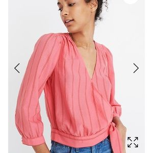 9939c7dc23afd5 Women s Pink Madewell Blouse on Poshmark